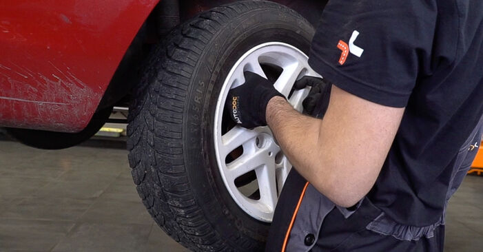 Changing of Brake Pads on BMW 3 Convertible (E46) 1998 won't be an issue if you follow this illustrated step-by-step guide