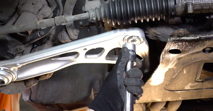 How to remove BMW 3 SERIES 323Ci 2.5 2002 Control Arm - online easy-to-follow instructions