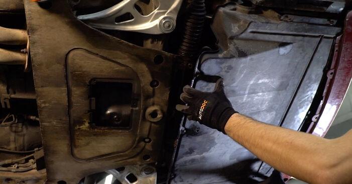 Ar sudėtinga pasidaryti pačiam: BMW 3 Convertible (E46) 320Cd 2.0 2004 Vikšro Valdymo Svirtis keitimas - atsisiųskite iliustruotą instrukciją