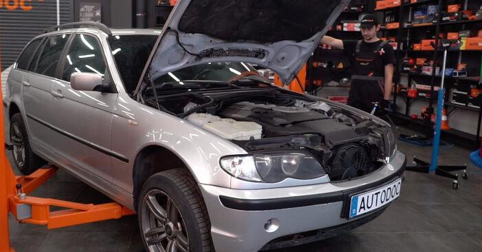 Stabigummis BMW 3 Touring (E46) 330d 2.9 2000 wechseln: Kostenlose Reparaturhandbücher