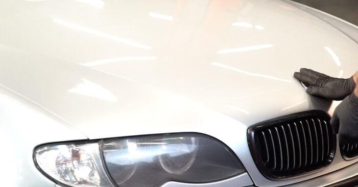 BMW 3 SERIES 320d 2.0 Bremsscheiben ausbauen: Anweisungen und Video-Tutorials online