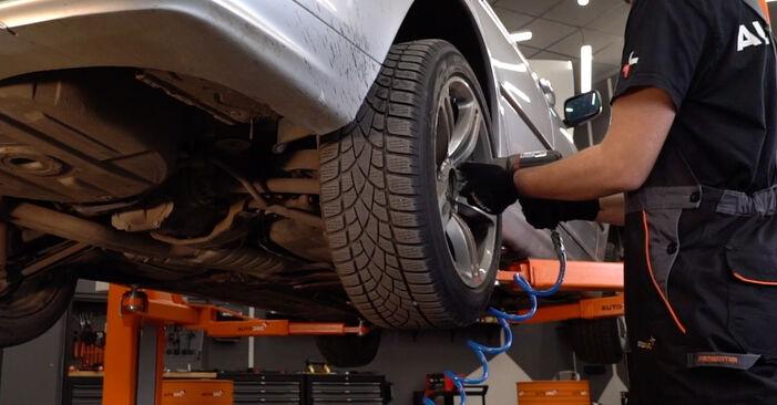 Comment retirer BMW 3 SERIES 330d 3.0 2002 Plaquettes de Frein - instructions en ligne faciles à suivre