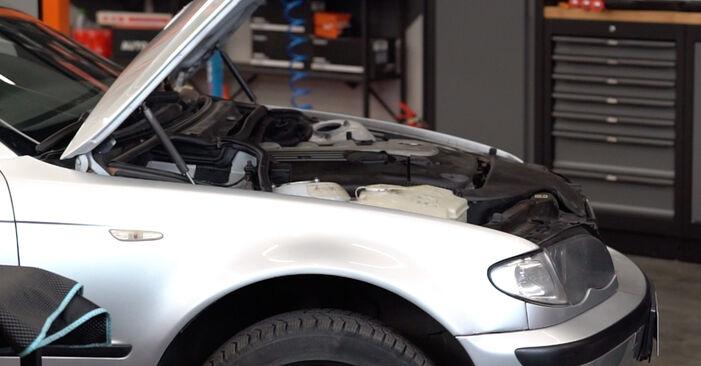 Jak vyměnit Brzdove hadicky na BMW 3 Touring (E46) 1998 - bezplatné PDF a video návody