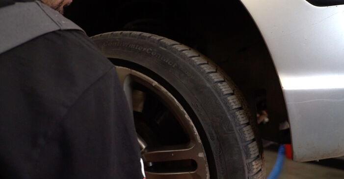 Jak vyměnit Brzdove hadicky na BMW 3 Touring (E46) 2003: stáhněte si PDF návody a video instrukce.