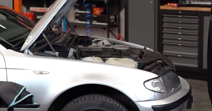 Wie Motorlager BMW 3 Touring (E46) 320d 2.0 1998 tauschen - Kostenlose PDF- und Videoanleitungen