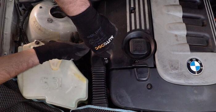 Austauschen Anleitung Motorlager am BMW 3 Touring (E46) 2000 320d 2.0 selbst