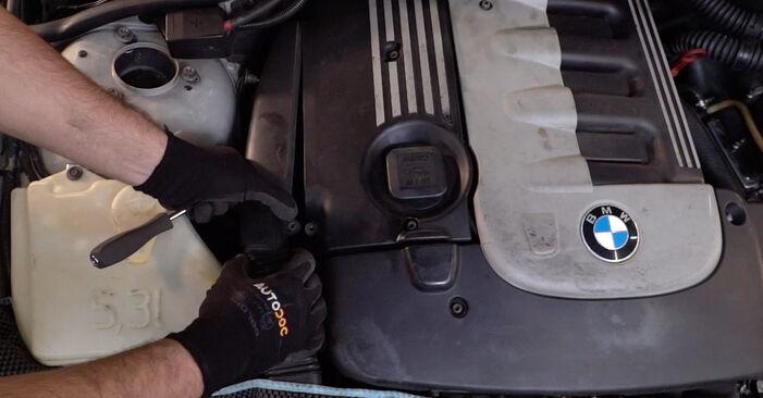 3 Touring (E46) 330d 3.0 2001 320i 2.2 Motorlager - Handbuch zum Wechsel und der Reparatur eigenständig