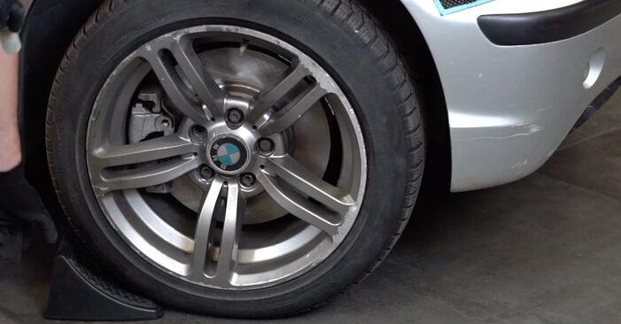 Motorlager BMW 3 Touring (E46) 330d 2.9 2000 wechseln: Kostenlose Reparaturhandbücher