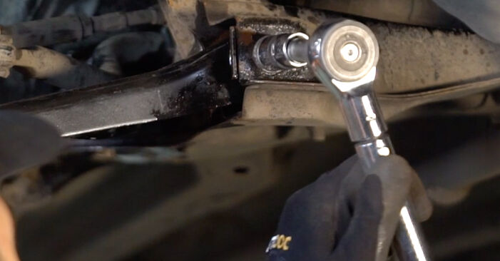 How hard is it to do yourself: Control Arm replacement on Toyota Aygo ab1 1 2011 - download illustrated guide