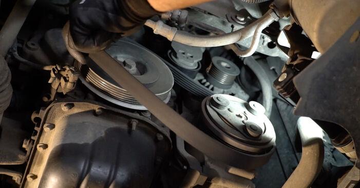Svépomocná výměna Klinovy zebrovany remen na FORD Focus II Sedan (DB_, FCH, DH) 2.0 TDCi 2008
