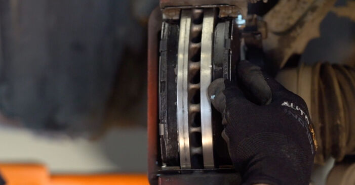 ACCORD VIII (CU) 2.4 i 2019 2.2 i-DTEC (CU3) Bremsscheiben - Handbuch zum Wechsel und der Reparatur eigenständig