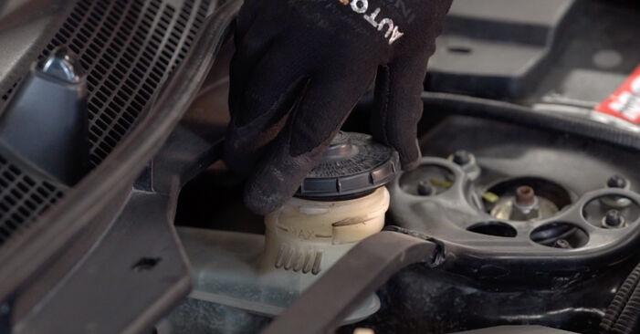 Wie schwer ist es, selbst zu reparieren: Bremsbeläge Honda Accord VIII CU 2.2 i-DTEC (CU3) 2014 Tausch - Downloaden Sie sich illustrierte Anleitungen