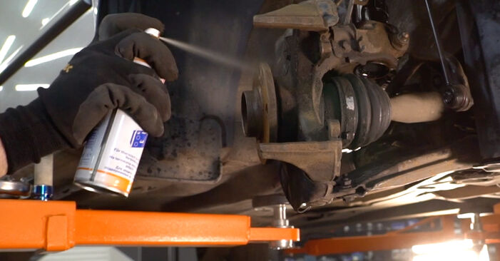 How to change Brake Discs on Skoda Fabia 6y5 1999 - free PDF and video manuals