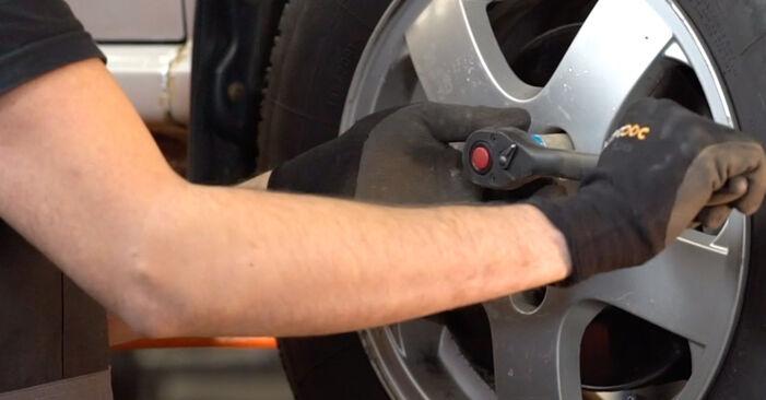 Replacing Brake Discs on Skoda Fabia 6y5 1999 1.4 16V by yourself