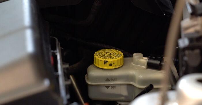 Skoda Fabia 6y5 1.9 TDI 2001 Brzdovy kotouc výměna: bezplatné návody z naší dílny