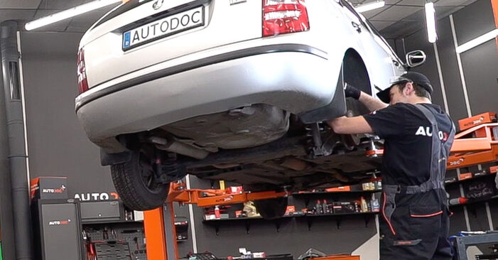 How to replace Strut Mount on SKODA Fabia I Combi (6Y5) 2004: download PDF manuals and video instructions