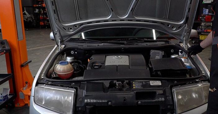 Como trocar Apoios de Motor no Skoda Fabia 6y5 1999 - manuais gratuitos em PDF e vídeo