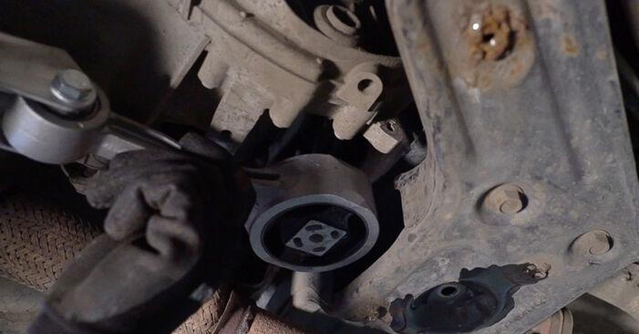 Mudar Apoios de Motor no Skoda Fabia 6y5 2007 não será um problema se você seguir este guia ilustrado passo a passo