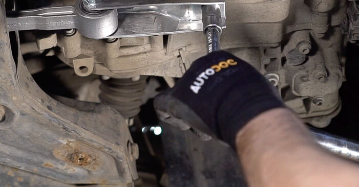Fabia I Combi (6Y5) 1.4 TDI 2000 Apoios de Motor manual de substituição de oficina por si mesmo