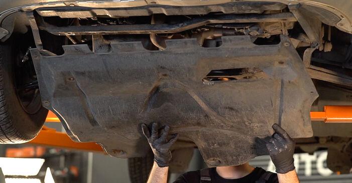 A substituição do Apoios de Motor no SKODA Fabia I Combi (6Y5) 1.2 2003 não é mais um problema com o nosso tutorial passo a passo.