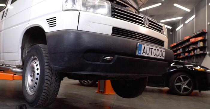 Stabigummis VW T4 Transporter 1.9 TD 1992 wechseln: Kostenlose Reparaturhandbücher