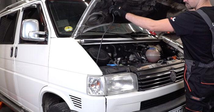 Wie Bremsschläuche VW T4 Transporter 2.5 TDI 1990 tauschen - Kostenlose PDF- und Videoanleitungen