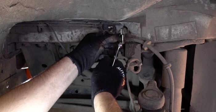 Austauschen Anleitung Bremsschläuche am VW T4 Transporter 2000 2.5 TDI selbst