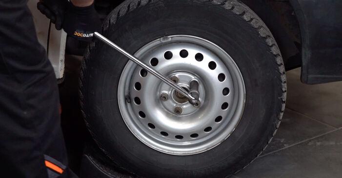 Bremsschläuche VW T4 Transporter 1.9 TD 1992 wechseln: Kostenlose Reparaturhandbücher