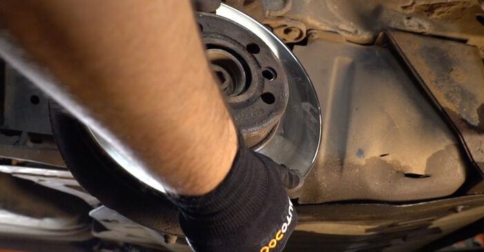 Bremsscheiben T4 Transporter 1.9 TD 1992 wechseln: Kostenlose Reparaturhandbücher