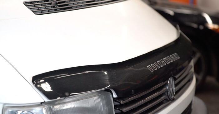 Comment retirer VW TRANSPORTER 2.5 TDI Syncro 1994 Disques De Frein - instructions en ligne faciles à suivre