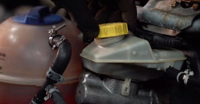 VW TRANSPORTER 2.5 Bremsbeläge ausbauen: Anweisungen und Video-Tutorials online