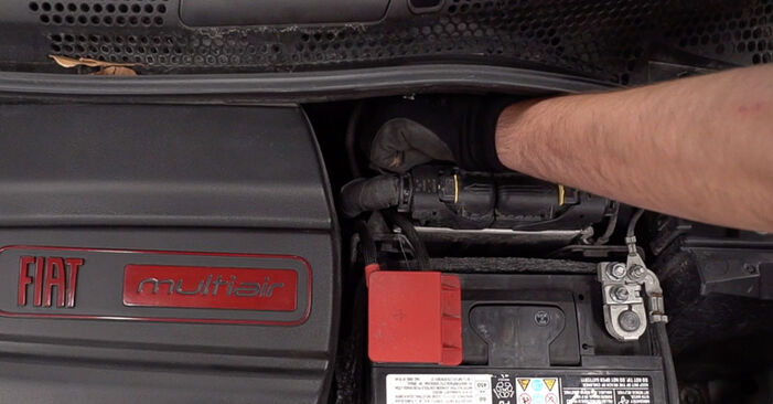 Hur byta Bromsbelägg på Fiat 500 312 2007 – gratis PDF- och videomanualer