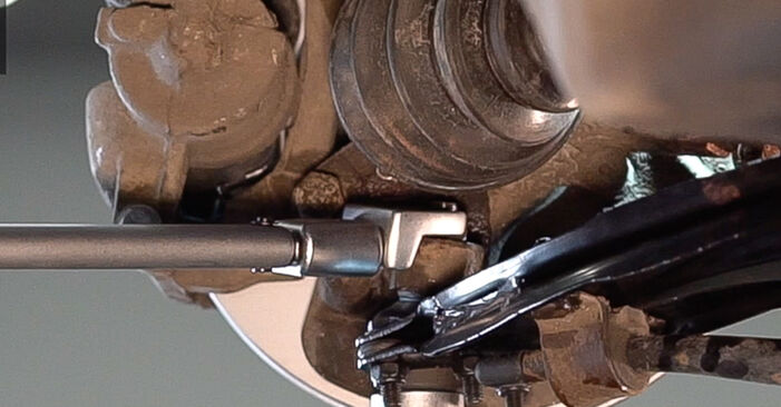 How to change Control Arm on Fiat Doblo Cargo 2001 - free PDF and video manuals
