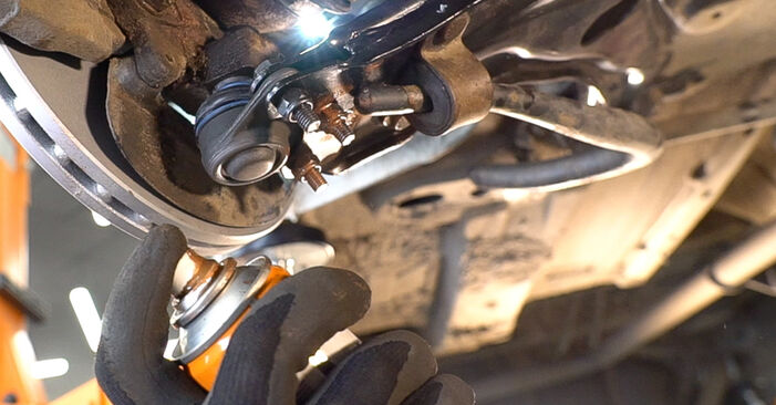 Replacing Control Arm on Fiat Doblo Cargo 2011 1.9 JTD by yourself