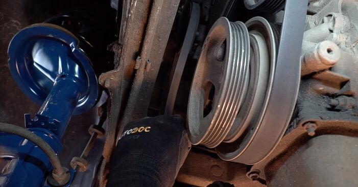 Wie schwer ist es, selbst zu reparieren: Keilrippenriemen Fiat Doblo Cargo 1.2 2007 Tausch - Downloaden Sie sich illustrierte Anleitungen