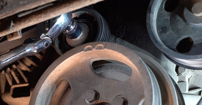 Keilrippenriemen Ihres Fiat Doblo Cargo 1.6 16V 2009 selbst Wechsel - Gratis Tutorial