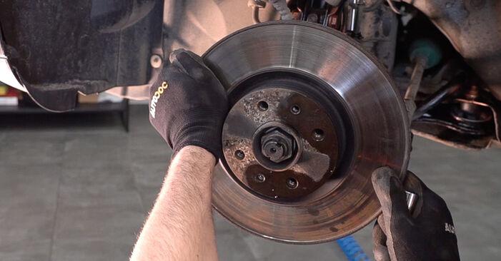 Bremsscheiben FIAT BRAVO II (198) 1.4 2008 wechseln: Kostenlose Reparaturhandbücher