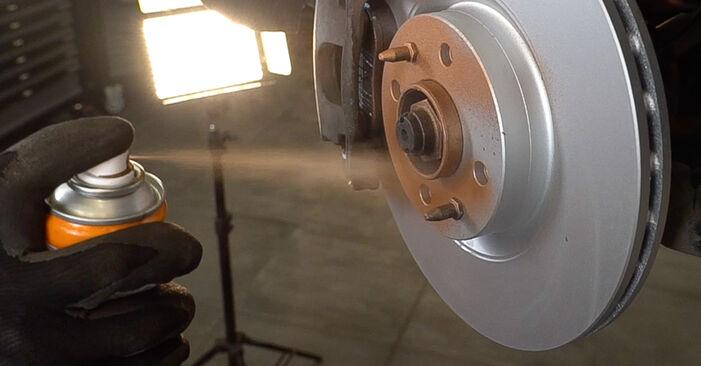Wie Bremsscheiben FIAT BRAVO II (198) 1.9 D Multijet 2006 tauschen - Kostenlose PDF- und Videoanleitungen