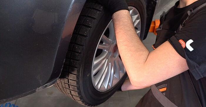 Bremsscheiben am FIAT BRAVO II (198) 2.0 D Multijet 2011 wechseln – Laden Sie sich PDF-Handbücher und Videoanleitungen herunter