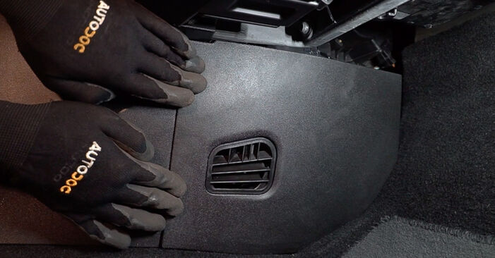 Changing of Pollen Filter on FIAT BRAVO II (198) 2014 won't be an issue if you follow this illustrated step-by-step guide