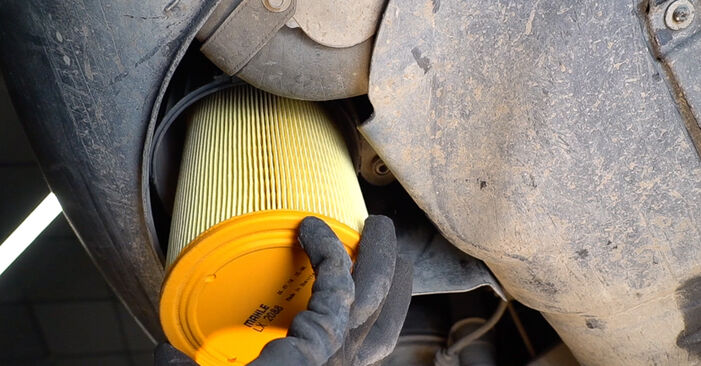 How to replace Air Filter on FIAT BRAVO II (198) 2011: download PDF manuals and video instructions
