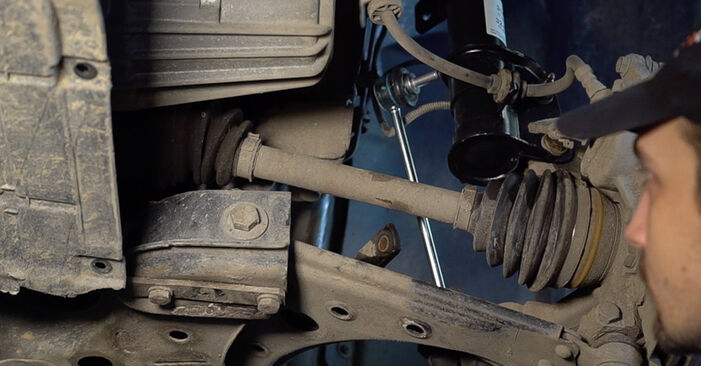 Step-by-step recommendations for DIY replacement FIAT BRAVO II (198) 2019 1.4 LPG Anti Roll Bar Links