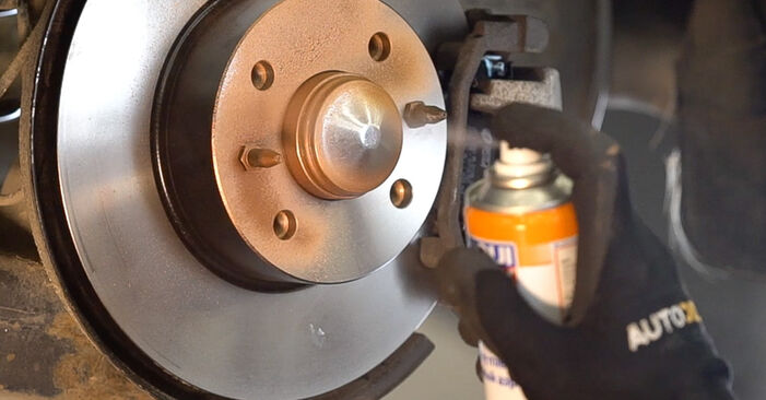 How to change Brake Pads on FIAT BRAVO II (198) 2006 - free PDF and video manuals