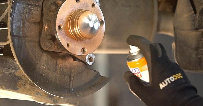 Radlager beim FIAT BRAVA 1.6 D Multijet 2013 selber erneuern - DIY-Manual