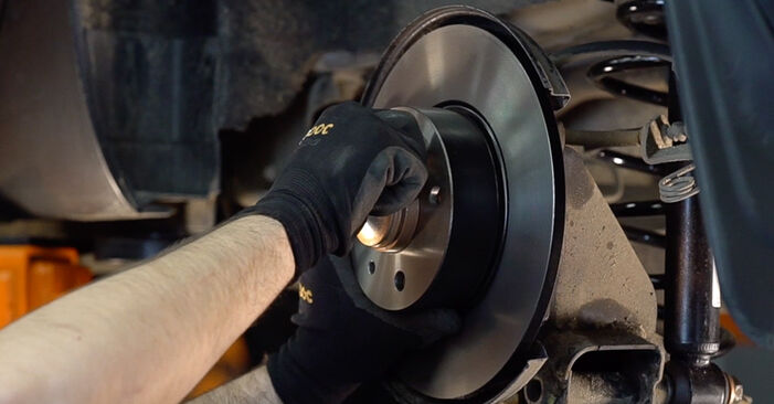 Changing of Wheel Bearing on FIAT BRAVO II (198) 2014 won't be an issue if you follow this illustrated step-by-step guide