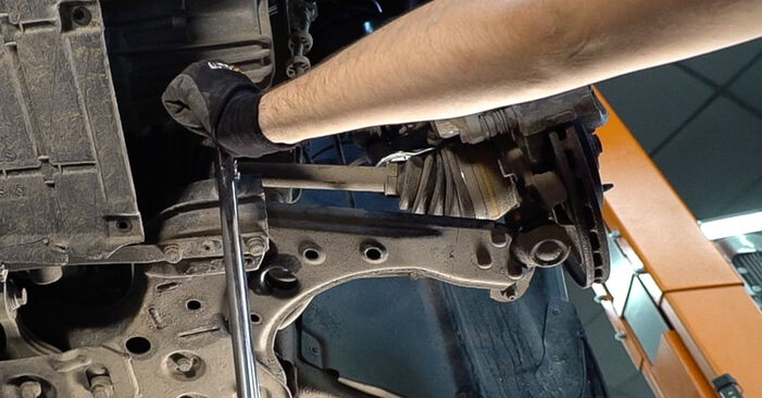 Replacing Control Arm on FIAT BRAVO II (198) 2016 1.9 D Multijet by yourself