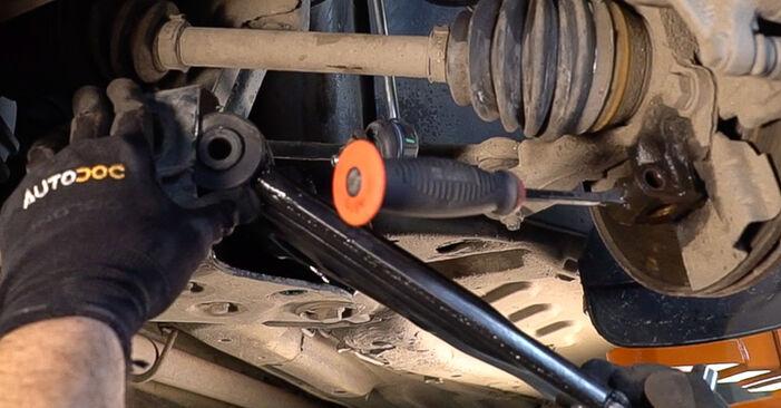 FIAT BRAVO II (198) 1.6 D Multijet 2008 Draagarm remplaceren: kosteloze garagehandleidingen