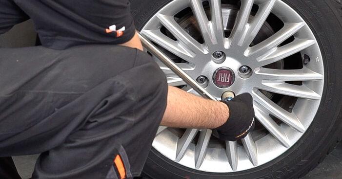 Hoe Draagarm FIAT BRAVO II (198) 1.9 D Multijet 2007 vervangen – stap voor stap leidraden en video-tutorials