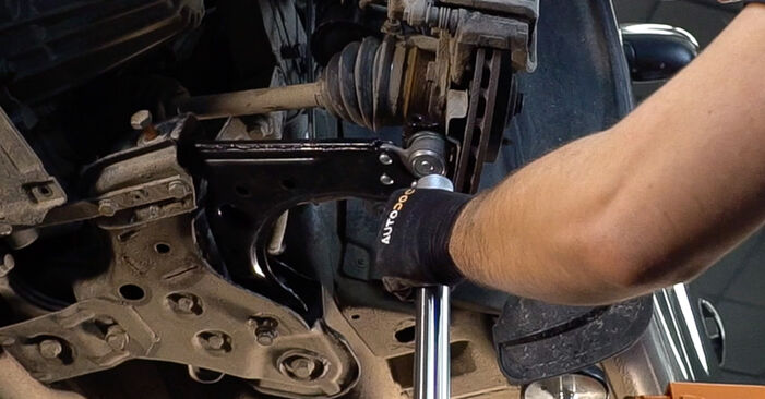 How to replace Control Arm on FIAT BRAVO II (198) 2011: download PDF manuals and video instructions