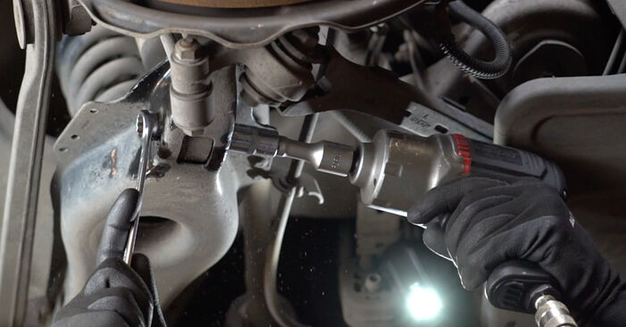 How to change Shock Absorber on Mercedes W211 2002 - free PDF and video manuals